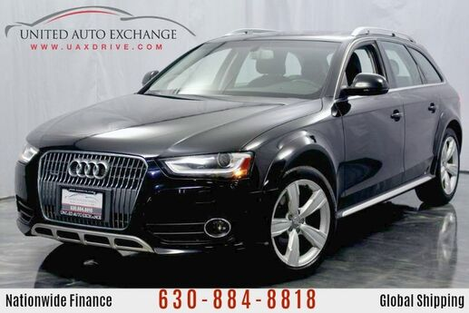 2014 Audi allroad 2.0L Engine Premium Plus AWD Quattro w/ Panoramic Sunroof, Navigation, Rear Parking Aid with Rear View Camera, Bluetooth Connectivity, Push Start Button Addison IL