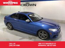2014_BMW_2 Series_M235i/Turbo/Leather/Navigation/Rear view camera/Heated seats_ Winnipeg MB