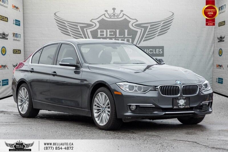 2014 BMW 3 Series 328i xDrive MODERN PKG, NAVI, LEATHER, MOONROOF