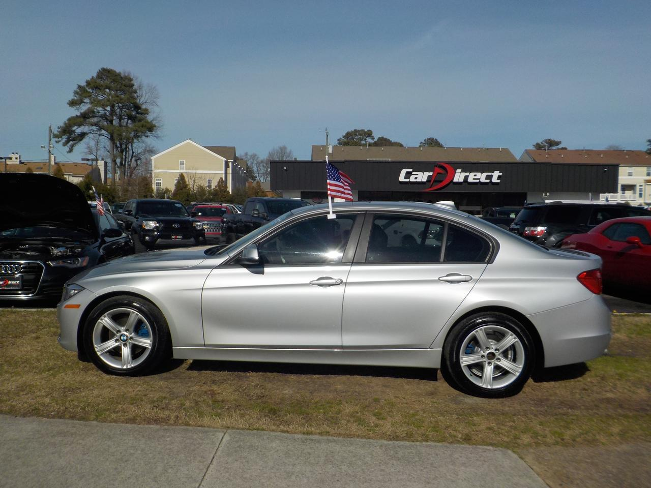 2014 BMW 320I XDRIVE AWD, WARRANTY, BLUETOOTH, SUNROOF, TINTED WINDOWS, HEATED & MEMORY SEATS! Virginia Beach VA