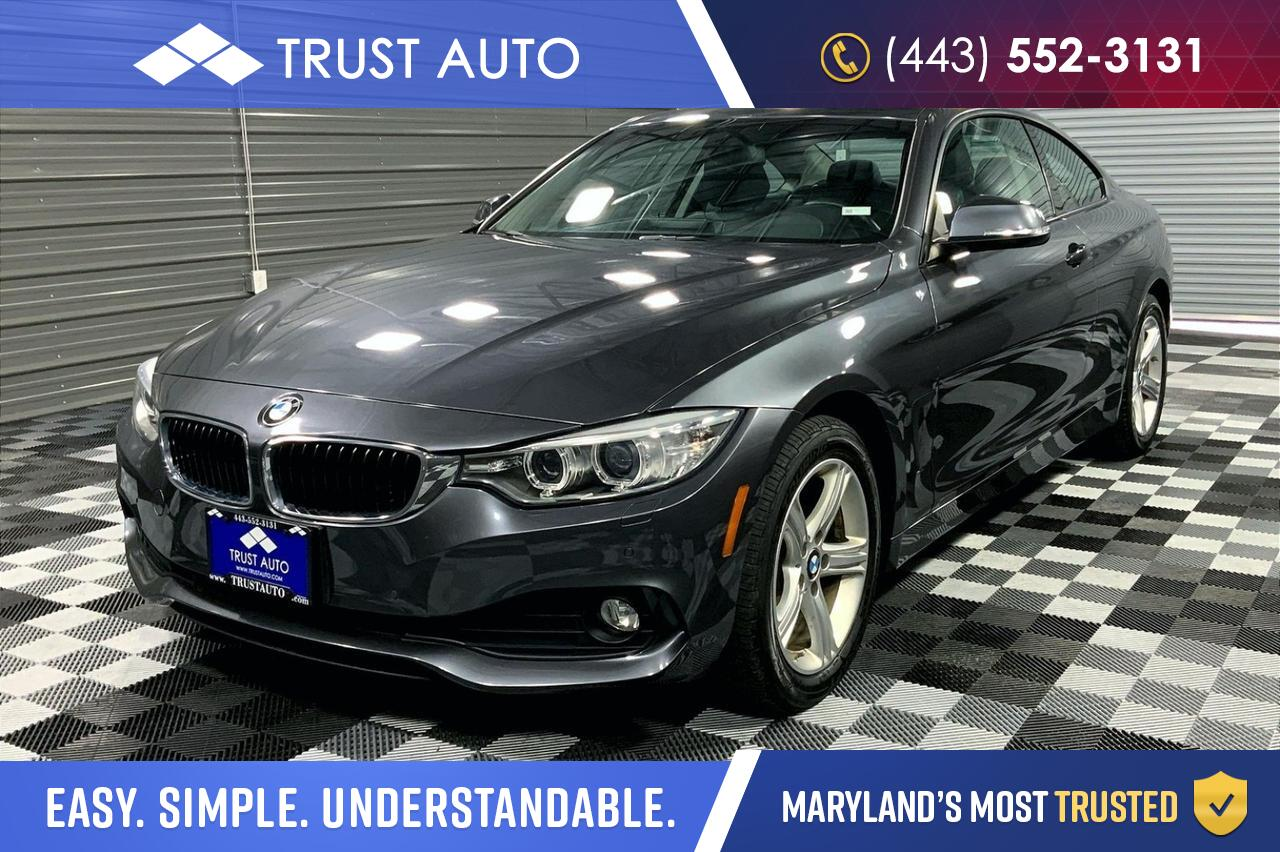 2014 BMW 4 Series 428i xDrive AWD Sport Coupe Sykesville MD