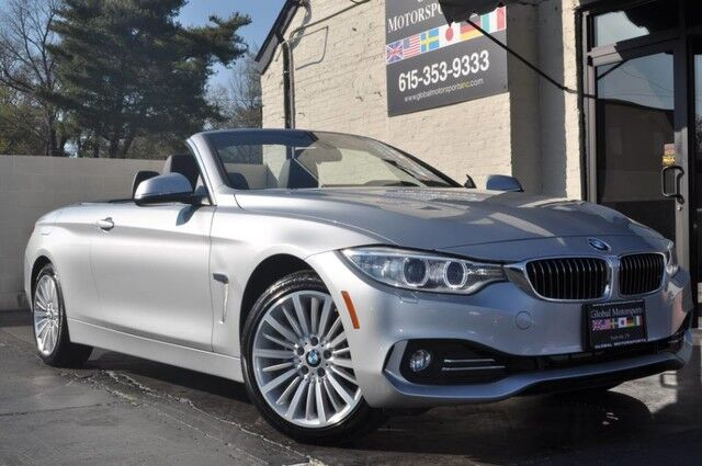 2014 BMW 4 Series 428i xDrive Convertible/Luxury Line/Premium Package with Comfort Access/Head Up Display/Lighting Package/Cold Weather Package with Heated Front & Rear Seats, Heated Steering Wheel/Neck Warmer Nashville TN