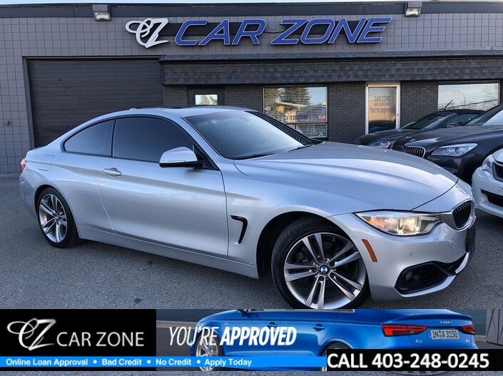 2014 BMW 4 Series 428i xDrive Coupe, Mpackage, Navi Calgary AB