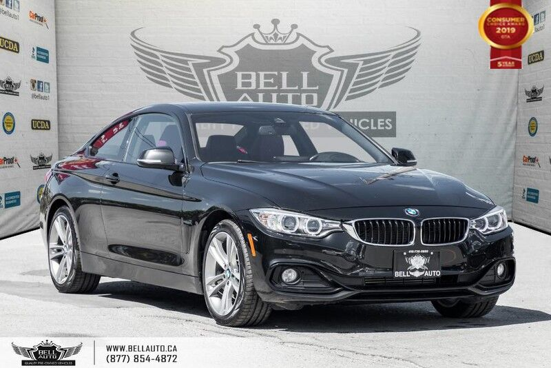 2014 BMW 4 Series 428i xDrive, NO ACCIDENT, COUPE, AWD, NAVI, BACK-UP CAM