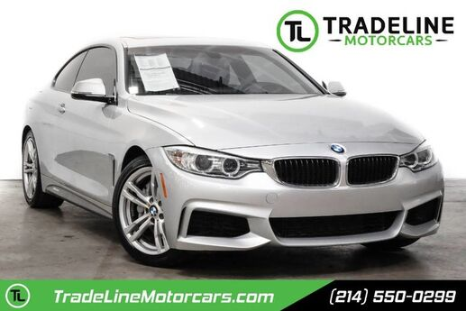 2014 BMW 4 Series 435i LEATHER, SUNROOF, BLUETOOTH, AND MUCH MORE!!! CARROLLTON TX