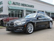 2014_BMW_4-Series_435i coupe LEATHER, HTD FRONT STS, NAVIGATION, HEADSUP DISPLAY, SUNROOF, BACKUP CAMERA KEYLESS START_ Plano TX