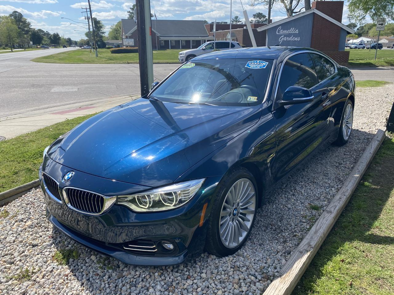 2014 BMW 428I , WARRANTY, LEATHER, HEATED SEATS, NAV, BLUETOOTH, BACKUP CAM,  PARKING SENSORS, CLEAN CARFAX! Norfolk VA