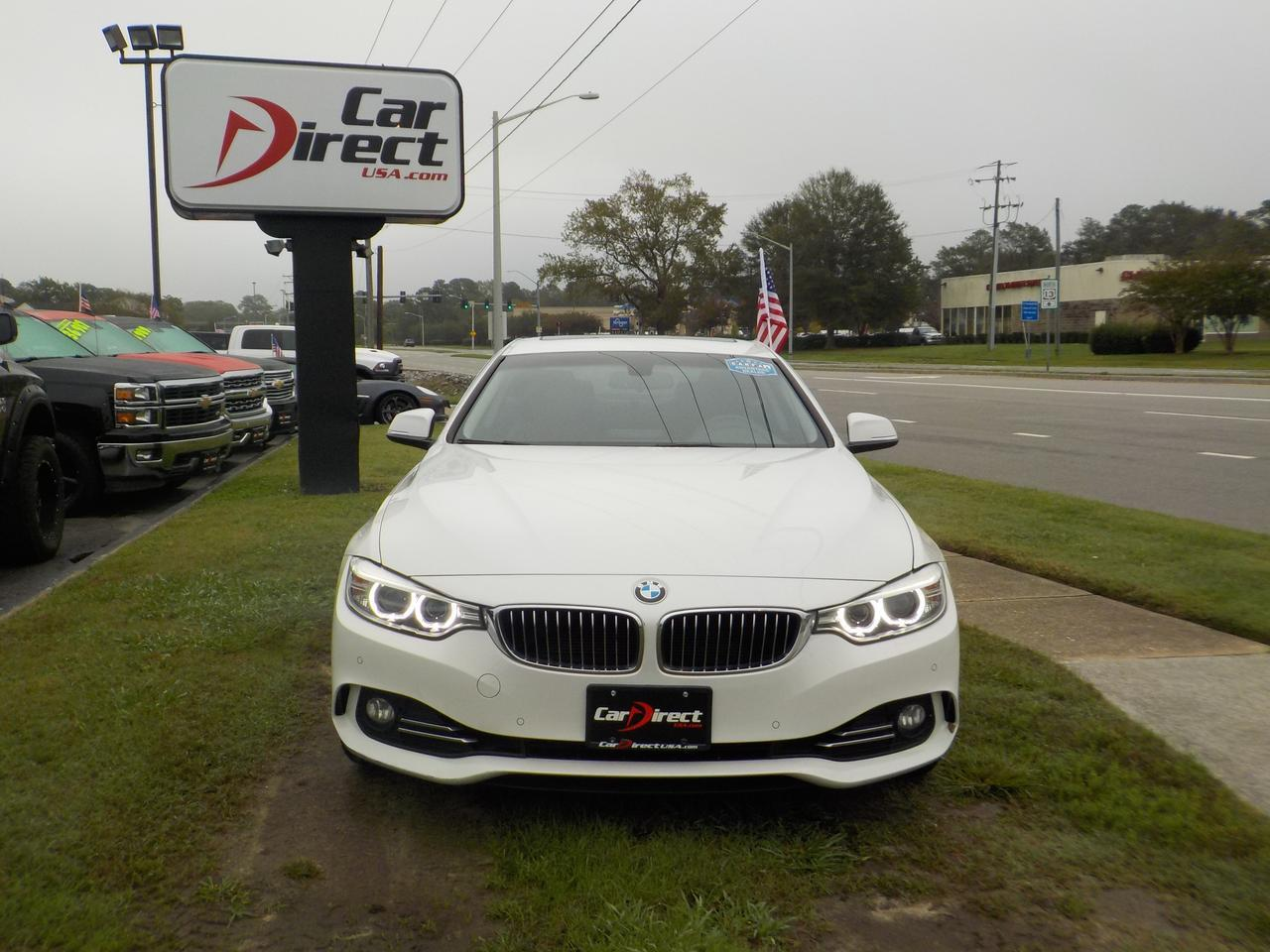 2014 BMW 428i 2DR COUPE, LEATHER, BACKUP CAMERA, BLUETOOTH, KEYLESS START, SUNROOF, ONLY 57K MILES! Virginia Beach VA
