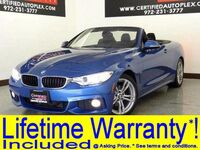 BMW 428i CONVERTIBLE M SPORT PKG HEADS UP DISPLAY NAVIGATION LEATHER HEATED SEATS REAR CAMERA 2014