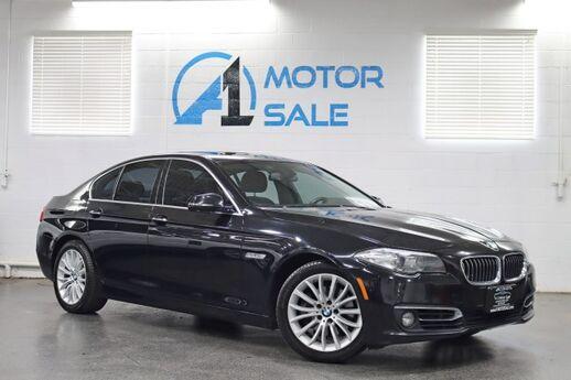 2014 BMW 5 Series 528i xDrive Luxury Line / Premium Pkg / Cold Weather Pkg Schaumburg IL