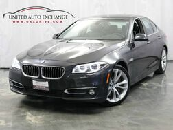 2014_BMW_5 Series_535d AWD xDrive / 3.0L 6-Cyl DIESEL Engine / Navigation / Sunroof / Push Start / Bluetooth / Parking Aid with Rear View Camera_ Addison IL