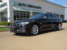 2014_BMW_5-Series_535d *Driver Assistance Package, Premium Package* LEATHER, NAVIGATION, SUNROOF, BACKUP CAMERA_ Plano TX