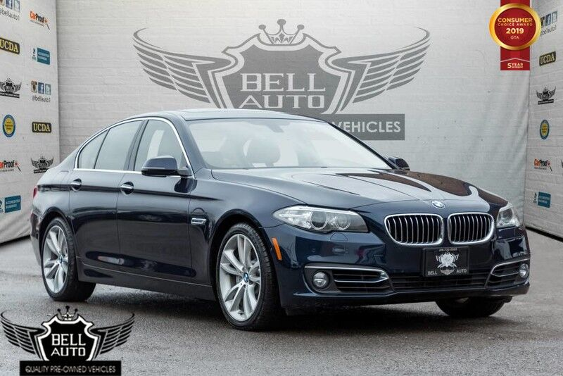 2014 BMW 5 Series 535d xDrive, NAVI, BACK-UP CAM, SUNROOF, LEATHER