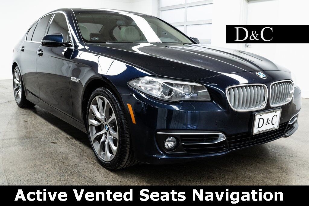 2014 BMW 5 Series 535i Active Vented Seats Navigation Portland OR