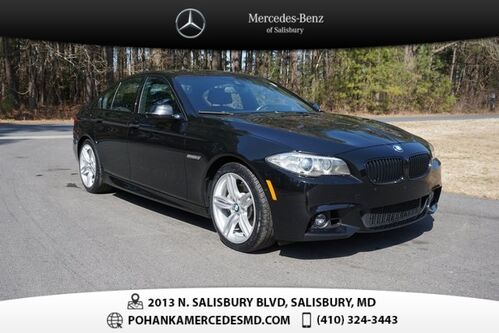2014_BMW_5 Series_535i xDrive ** ALL WHEEL DRIVE ** NAVI & SUNROOF **_ Salisbury MD