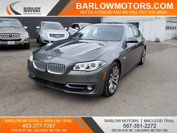 2014_BMW_5 Series_550i xDrive Clean Carfax MODERNLINE_ Calgary AB