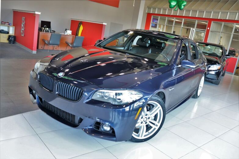 2014 BMW 5 Series 550i xDrive M Sports Heated Front Seats Rear Sunshade Sunroof Springfield NJ