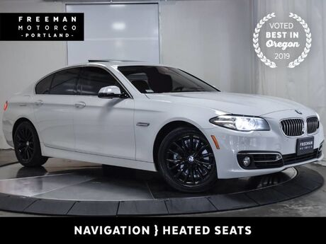 2014 BMW 528i xDrive Luxury Heated Seats Nav Back-Up Camera Portland OR