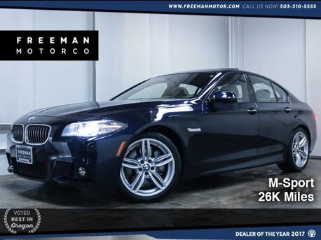 2014_BMW_535d_M-Sport Backup Cam Htd Seats_ Portland OR