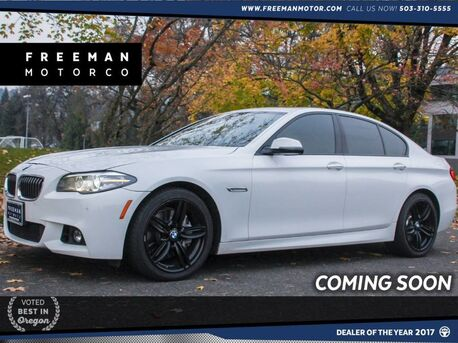 2014_BMW_550i_xDrive AWD M-Sport Back-up Cam Head-Up Display_ Portland OR