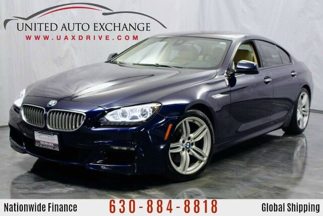 2014 BMW 6 Series 4.4L V8 Engine AWD 650i xDrive M-Sport Package w/ Navigation, Bluetooth Connectivity, Front and Rear Parking Aid with Rear View Camera, Bang & Olufsen Premium Sound System, Rear Center Console Addison IL