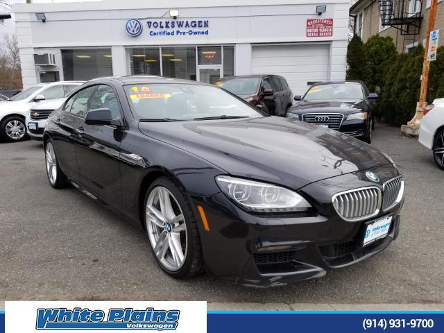 2014 BMW 6 Series 4dr Sdn 650i xDrive AWD Gran Coupe White Plains NY