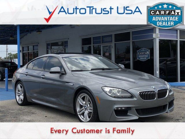 2014 BMW 6 Series 640i Gran Coupe Miami FL