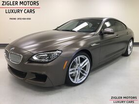 BMW 6 Series 650i Gran Coupe M Sport Package BANG& OULFSEN SOUND Pano roof 2014