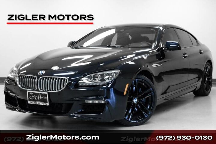 2014 BMW 6 Series 650i Gran Coupe M Sport only 22Kmi Driver Assistance Blind Spot Lane Dep HUD Addison TX