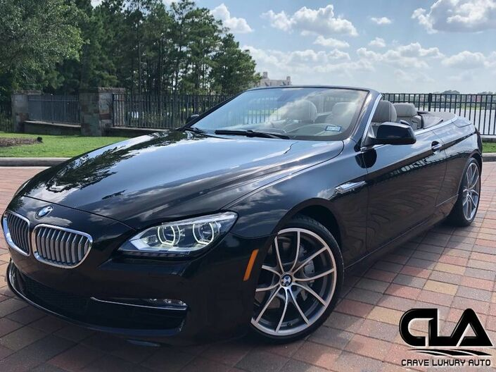 2014 BMW 6 Series 650i The Woodlands TX