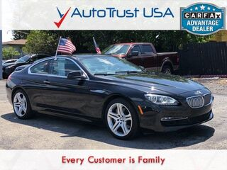 BMW 6 Series 650i xDrive SPORT PKG NAV SUNROOF BACKUP CAM DRIVER ASST 2014
