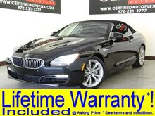 2014_BMW_640i_Convertible Navigation Rear Camera Park Assist Power Heated Leather Seats_ Carrollton TX