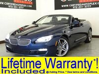 BMW 650i CONVERTIBLE SPORT PKG EXECUTIVE PKG DRIVER ASSIST PKG PLUS BLIND SPOT MONITOR LANE KEEP 2014