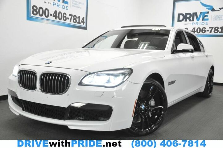 2014 BMW 7 Series 750LI M SPORT HUD NAV REAR CAM SENSORS KEYLESS IGNITION VENTILATED SEATS 4 ZONE AC Houston TX