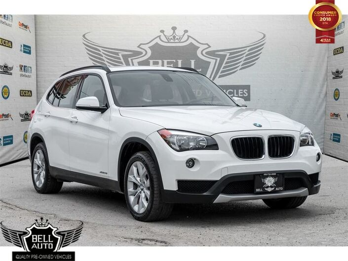 2014 BMW X1 xDrive28i PREMIUM PKG PANORAMIC ROOF LEATHER AWD Toronto ON