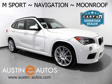 BMW X1 xDrive35i *M SPORT PKG, NAVIGATION, PANORAMA MOONROOF, LEATHER, COMFORT ACCESS, BLUETOOTH 2014