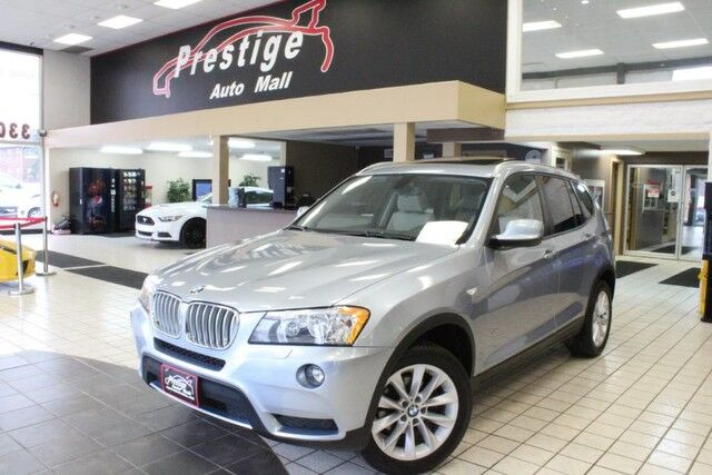 2014 BMW X3 xDrive28i - Pano Roof, Front and Rear Heated Seats Cuyahoga Falls OH