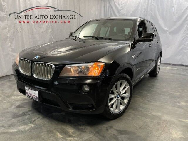 2014 BMW X3 xDrive28i / 2.0L Twinpower Turbo Engine / AWD xDrive / Panoramic Sunroof / Bluetooth / Parking Aid with Rear View Camera / Cold Weather Package / Push Start Addison IL