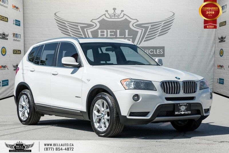 2014 BMW X3 xDrive28i, AWD, NAVI, BACK-UP CAM, PANO ROOF, SENSORS