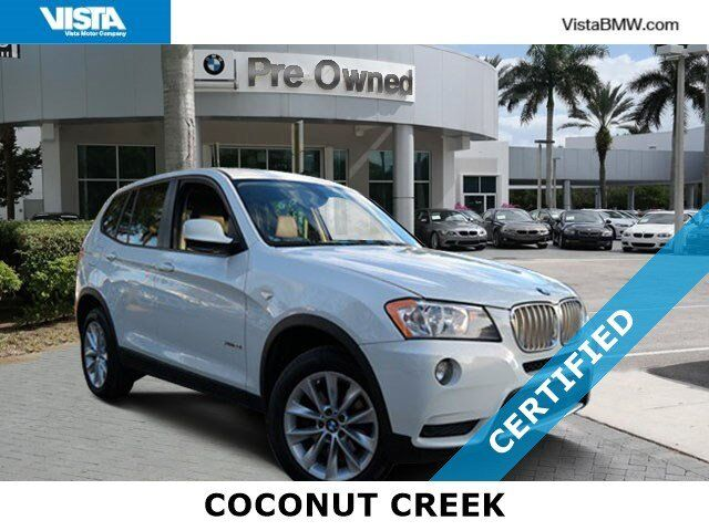 2014 BMW X3 xDrive28i Coconut Creek FL