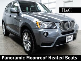 2014 BMW X3 xDrive28i Panoramic Moonroof Heated Seats