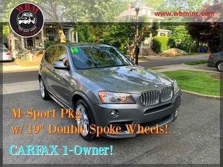 2014_BMW_X3_xDrive28i w/ M-Sport Package_ Arlington VA
