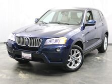 BMW X3 xDrive35i / 3.0L 6-cyl Engine / AWD xDrive / Panoramic Roof / Navigation / Parking Sensor with Rear View Camera / Bluetooth / Heated Seats and Steering Wheel / Push Start Addison IL