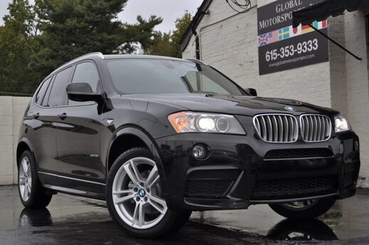 2014 BMW X3 xDrive35i/AWD/M Sport Pkg/Premium Pkg w/ Comfort Access, Panoramic Moonroof/Navigation/Driver Assistance Pkg w/ Rear View Camera, PDC/Lighting Pkg/Automatic Tailgate Nashville TN