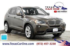 2014_BMW_X3 xDrive35i_AWD NAVIGATION HEADUP DISPLAY PANORAMA LEATHER REAR CAMERA KEYLESS START_ Carrollton TX
