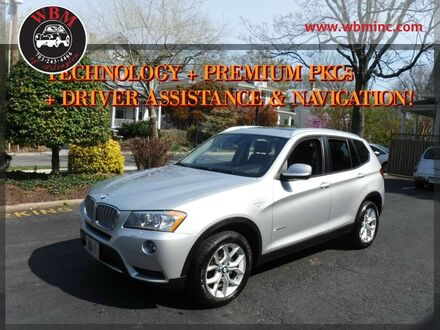 2014_BMW_X3_xDrive35i_ Arlington VA