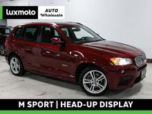 2014_BMW_X3_xDrive35i M Sport Head-Up Display Heated Seats Nav_ Portland OR