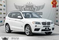 BMW X3 xDrive35i, M, V6, AWD, NO ACCIDENT, REAR CAM, PANO ROOF 2014