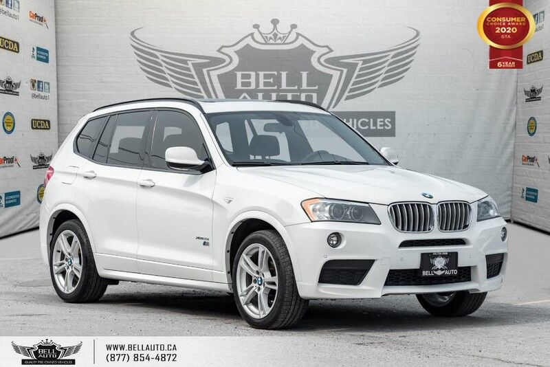 2014 BMW X3 xDrive35i, M, V6, AWD, NO ACCIDENT, REAR CAM, PANO ROOF