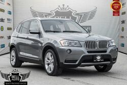 BMW X3 xDrive35i NAVIGATION PANORAMIC SUNROOF LEATHER BACK-UP CAMERA 2014